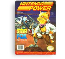 Nintendo Power - Volume 47 Canvas Print