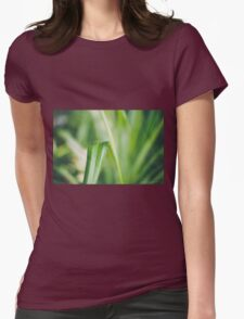 Tranquil Green Womens Fitted T-Shirt