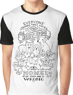 The Best Dog Graphic T-Shirt