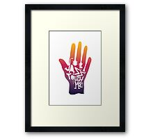 jazz touch me Framed Print