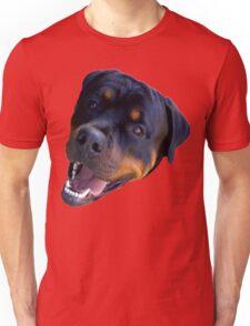 happy puppy Unisex T-Shirt