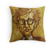 Woody Allen Throw Pillow