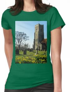 St John The Baptist, Snape Womens Fitted T-Shirt