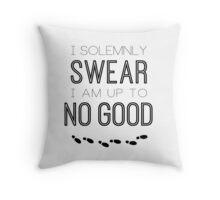 No Good Throw Pillow