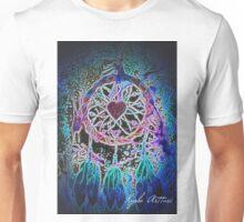 Neon Dream Catcher Unisex T-Shirt