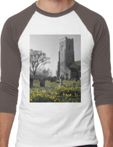 St John The Baptist, Snape ( 2 ) Men's Baseball ¾ T-Shirt