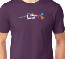 Dark Side of the Reading Rainbow Unisex T-Shirt