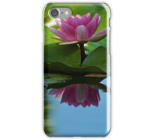 Lily Pad Reflections 2 iPhone Case/Skin