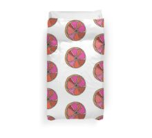 grape tasting fruit Duvet Cover