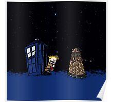 Tardis Doctor Who - Dalek Poster