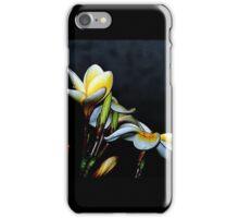 Gentle Frangipani iPhone Case/Skin