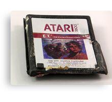 ATARI E.T. Canvas Print