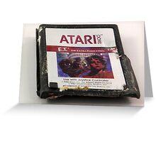 ATARI E.T. Greeting Card