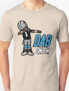 carolina panther dab on em Unisex T-Shirt