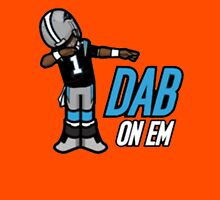 carolina panther dab on em Unisex T-Shirt
