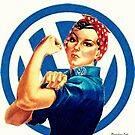 Vw Rosie ( We can do it) by Sharon Poulton