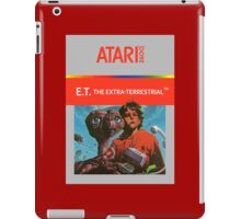 ET Atari Box iPad Case/Skin