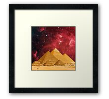 The Great Pyramids Framed Print