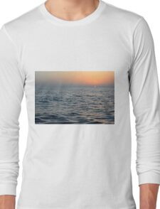 The sunset at the sea. Long Sleeve T-Shirt