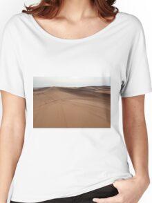 Sand dunes in the desert. Women's Relaxed Fit T-Shirt