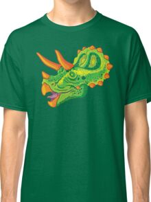 Triceratops (lime) Classic T-Shirt