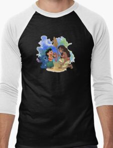 Welcome to the Ohana Moana Men's Baseball ¾ T-Shirt
