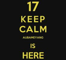 Keep calm aubameyang is here by Miltossavvides