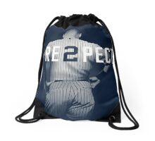 The legend Derek Jeter Respect Drawstring Bag