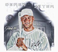 Derek Jeter smile Kids Tee