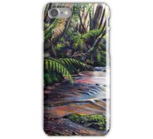 Along the Creek, Blue Mountains iPhone Case/Skin
