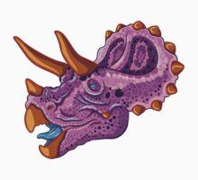 Triceratops (grape) Baby Tee