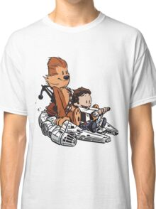 Chewie And Han Classic T-Shirt
