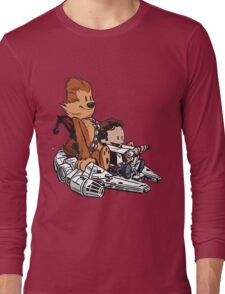 Chewie And Han Long Sleeve T-Shirt