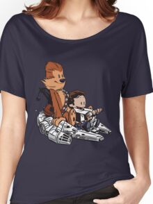 Chewie And Han Women's Relaxed Fit T-Shirt