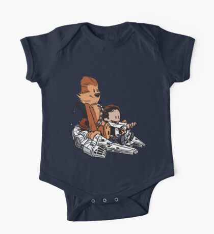 Chewie And Han One Piece - Short Sleeve