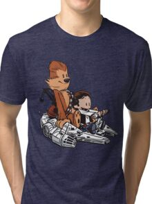 Chewie And Han Tri-blend T-Shirt