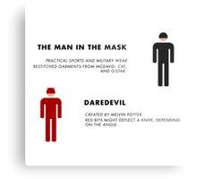 Daredevil Costumes Metal Print