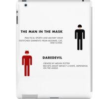 Daredevil Costumes iPad Case/Skin