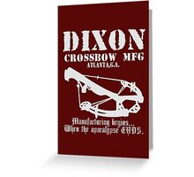 Dixon Crossbow Mfg Greeting Card