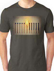 burning alone Unisex T-Shirt
