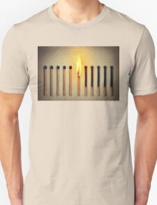burning alone T-Shirt