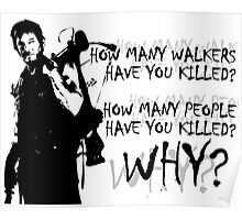 Daryl-How Many WHY Poster