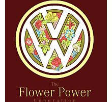 The Flower Power Photographic Print