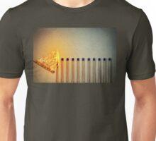 burning matches Unisex T-Shirt