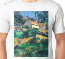 1898 - Paul Cezanne - Turning Road at Montgeroult Unisex T-Shirt