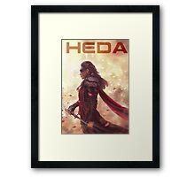 HEDA Framed Print