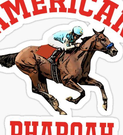 american pharoah Sticker