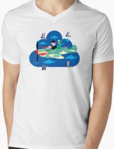 Mid-Life Crisis No.2 Mens V-Neck T-Shirt