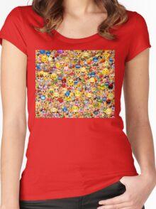 emoji Women's Fitted Scoop T-Shirt