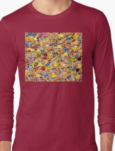 emoji Long Sleeve T-Shirt